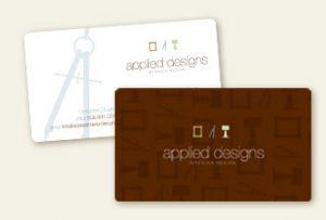 Business Card Design - Applied Designs
