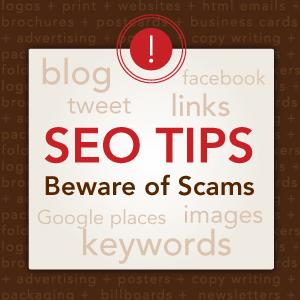 Avoid SEO Scams