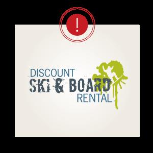 Ski & Board - Negative Space in a Logo
