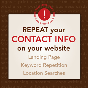 Repeat Contact Information - Tingalls Dzyn