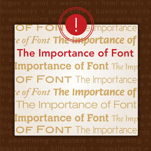 Importance of Font Selection