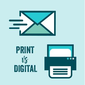 Newsletter design - print vs. digital