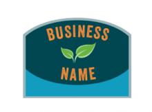 Logo Seal Sticker Style