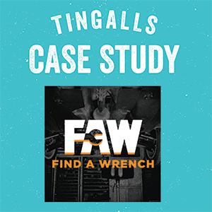 Tingalls Case Study - Find A Wrench Website Design