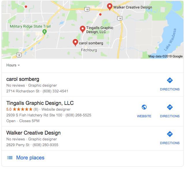 GMB local search