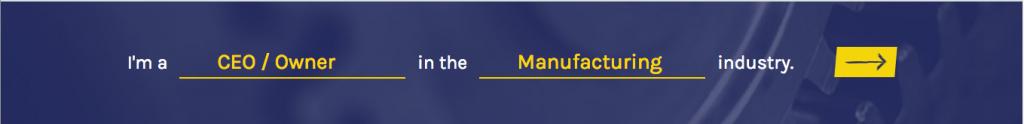 Mad-lib website component