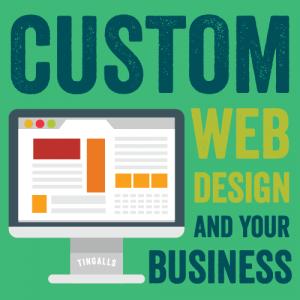 Custom Web Design - Tingalls Graphic Design