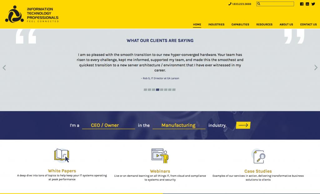 Mad Lib Web Design Feature