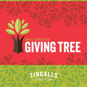 Tingalls Graphic Design - Giving Tree Program