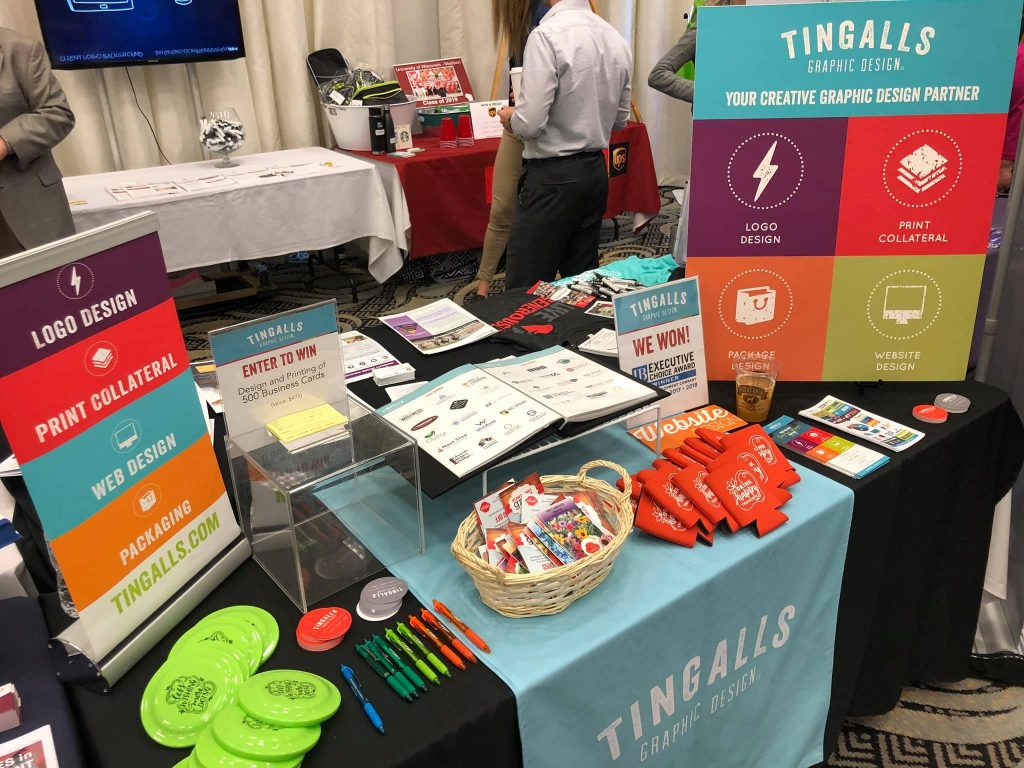 Tingalls Trade Show Booth