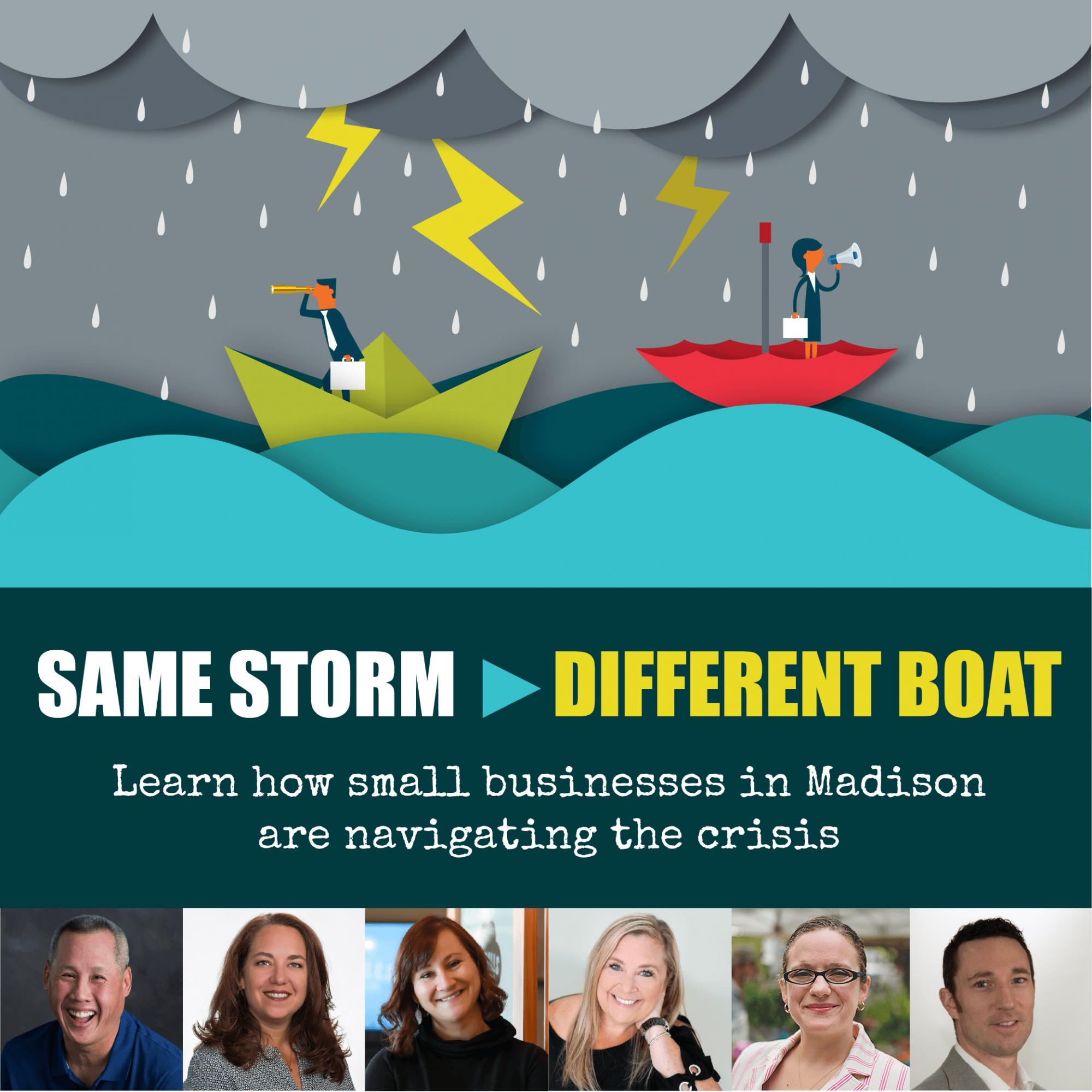 Same Storm, Different Boats Webinar