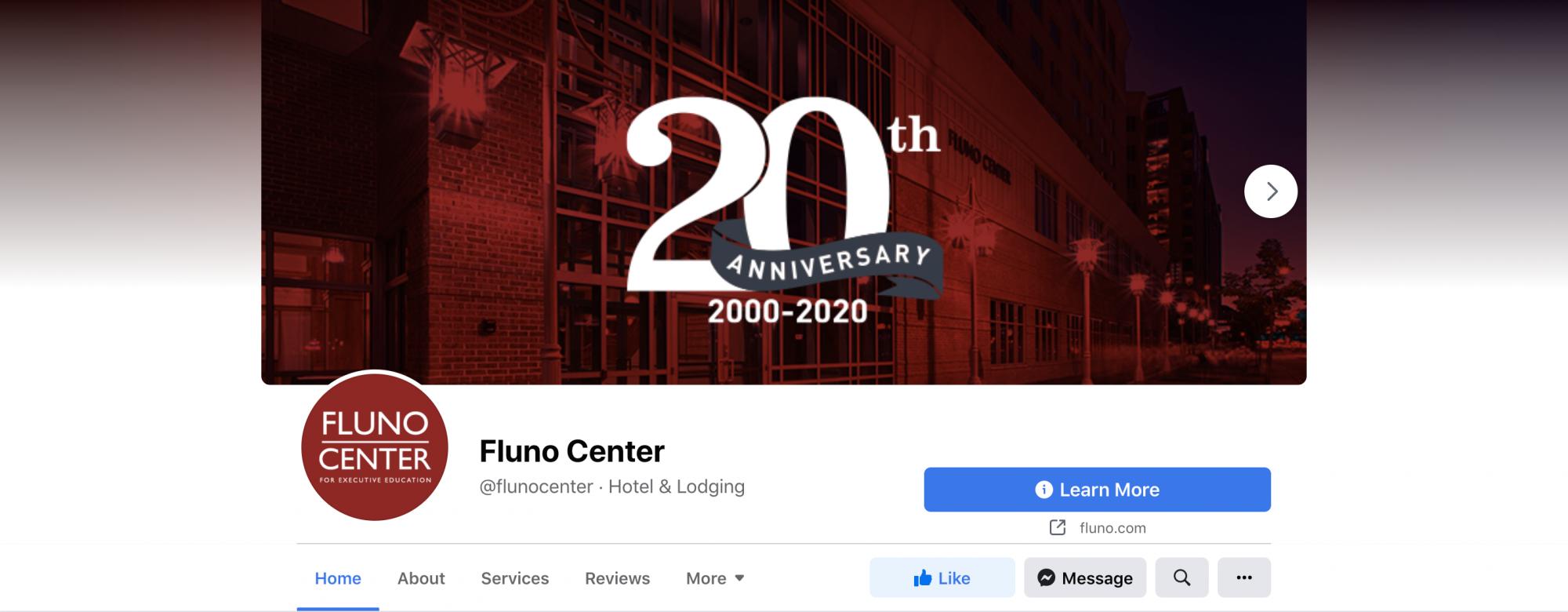Fluno Center Facebook cover image 1