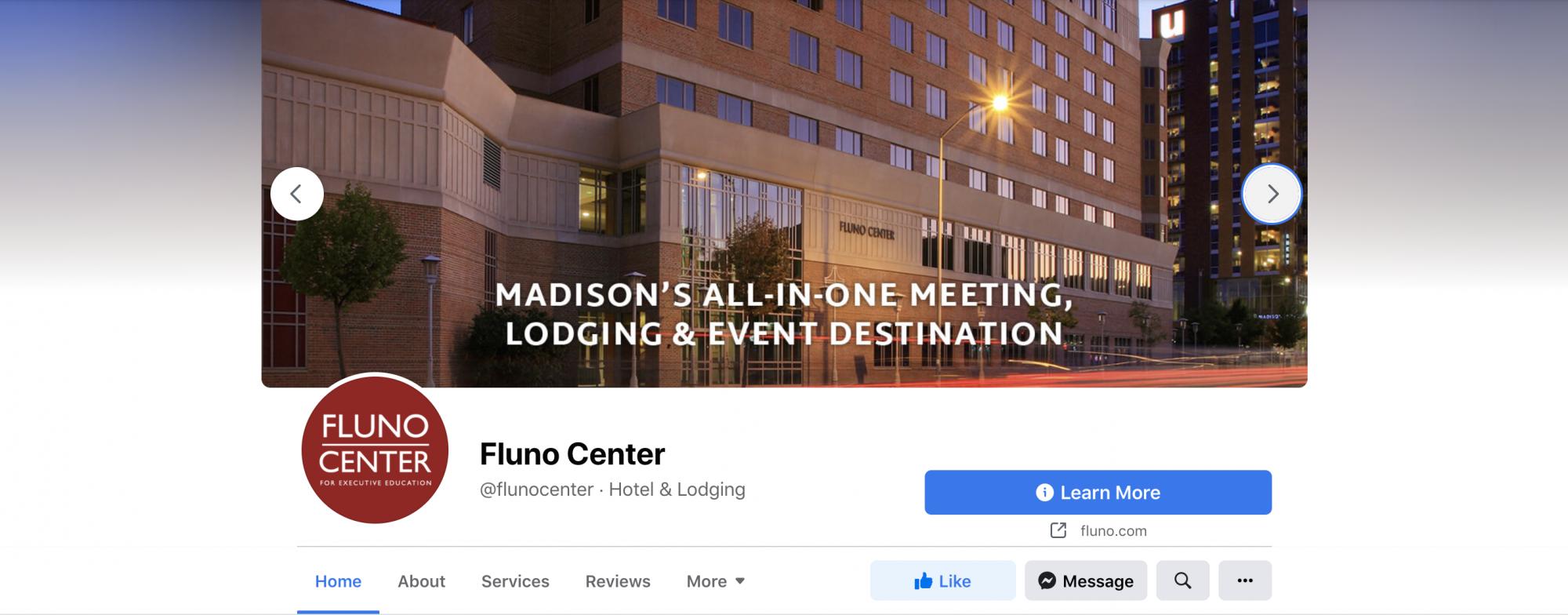 Fluno Center Facebook cover image 2
