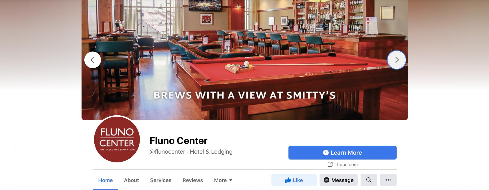 Fluno Center Facebook cover image 3