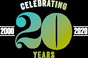 celebrating 20 years tingalls logo