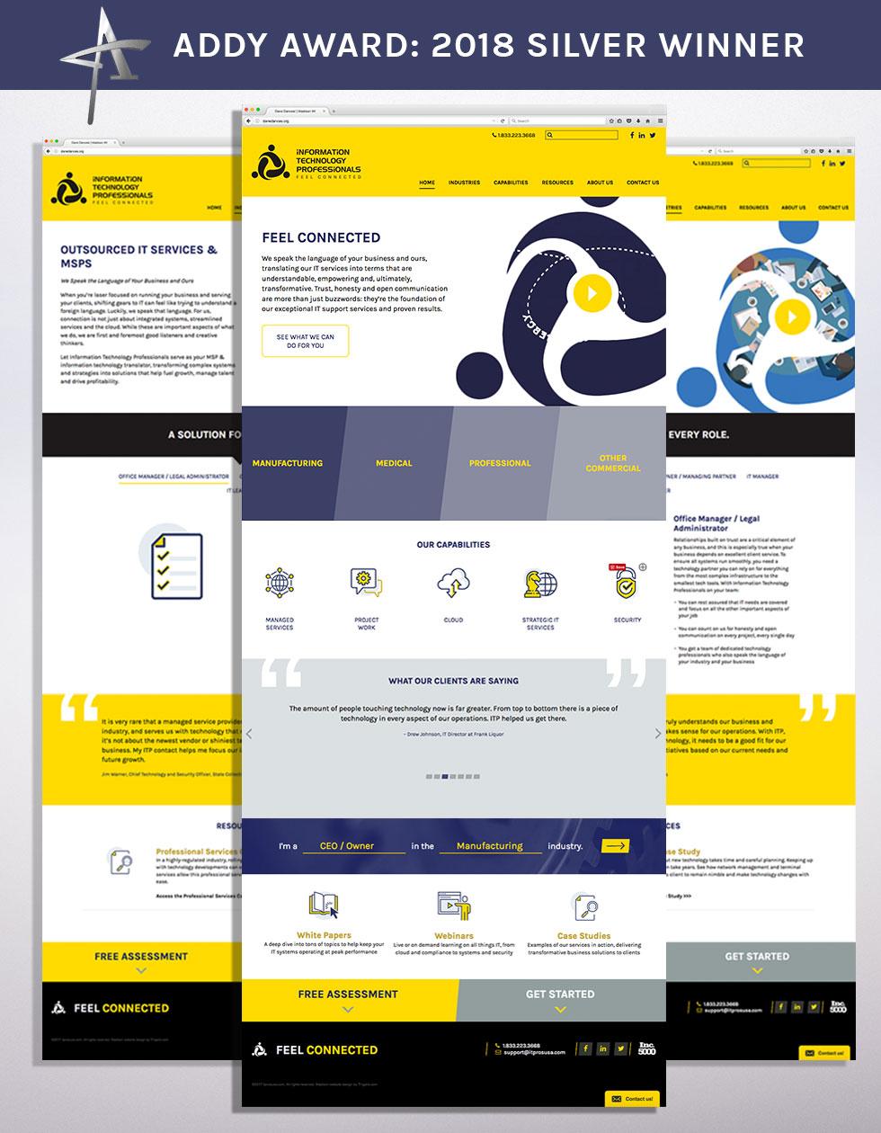 it pros custom website design madison wi