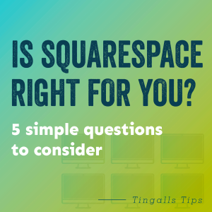 Is squarespace right for you?